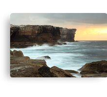 Edge of a continent Canvas Print
