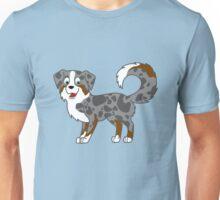 Blue Merle Australian Shepherd Unisex T-Shirt
