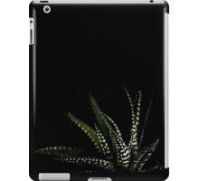 Haworthia Aloe Vera cactus succulent plant white spots iPad Case/Skin