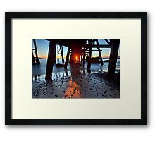 Catherine Hill Bay Framed Print