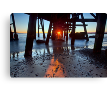 Catherine Hill Bay Canvas Print