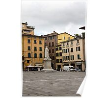 Lucca square Poster