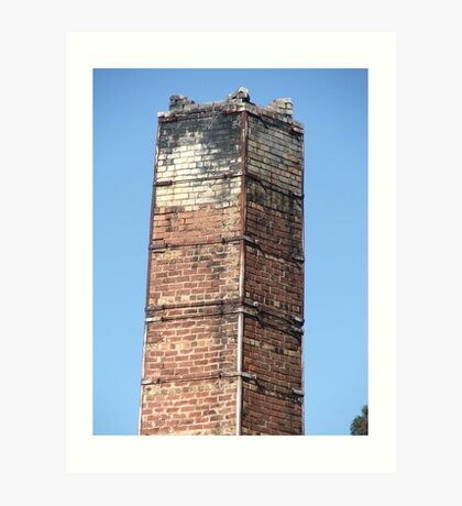 Chimney Kiln Art Print