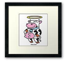 Holy Cow! Framed Print