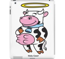 Holy Cow! iPad Case/Skin