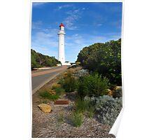 Split Point Lighthouse. Aireys Inlet, Victoria, Australia. (1891) Poster