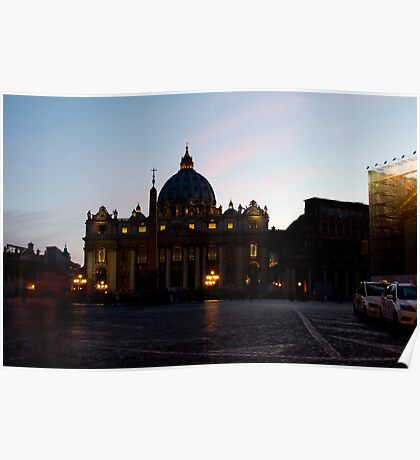 St. Peter's Basilica, Rome Poster