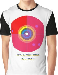 Gaydar - A Natural Instinct Graphic T-Shirt