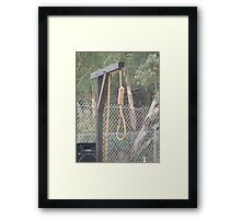 The Hangman's Noose Framed Print