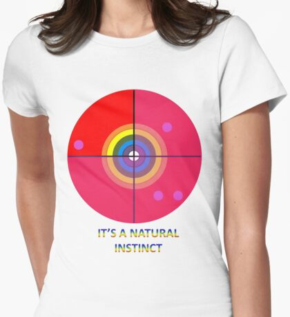Gaydar - A Natural Instinct Womens Fitted T-Shirt