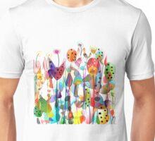 Summer Garden Flowers Unisex T-Shirt