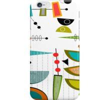 Mid-century Modern Abstract #55 iPhone Case/Skin