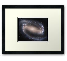 Barred Spiral Galaxy Series V Framed Print