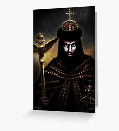 Boris Godunov Greeting Card