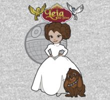A Forceful Princess Baby Tee