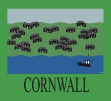 Cornwall fishing village Kids Clothes