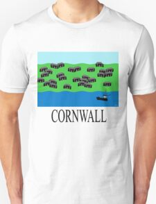 Cornwall fishing village Unisex T-Shirt