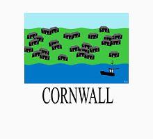 Cornwall fishing village Long Sleeve T-Shirt