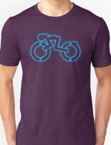 Grid Cyclist (halftone) Unisex T-Shirt