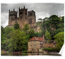 HDR Durham Cathedral Poster