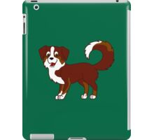 Red Tricolor Australian Shepherd iPad Case/Skin