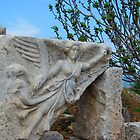 Angel Flies near the Temple of Domitian - Ephesus by M-EK