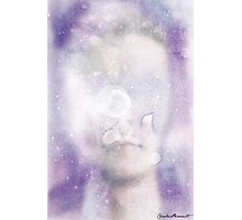 Abstract Watercolor Portrait Photographic Print