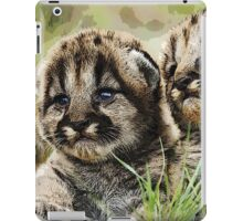 Wild nature - cubs iPad Case/Skin