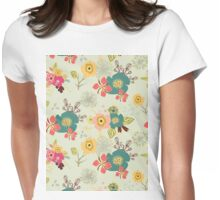 Autumn Melody Womens Fitted T-Shirt