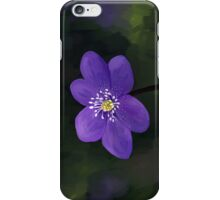 Hepatica iPhone Case/Skin