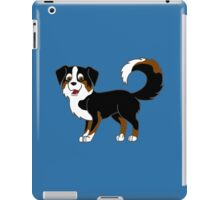 Black Tricolor Australian Shepherd iPad Case/Skin