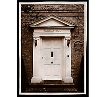 Winterbrook House - Home of Dame Agatha Christie Photographic Print