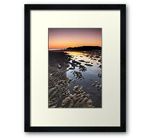 South Shields Beach Framed Print