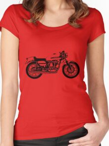 1974 Ducati Desmo 350 Women's Fitted Scoop T-Shirt