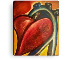 The heart of nursing Metal Print