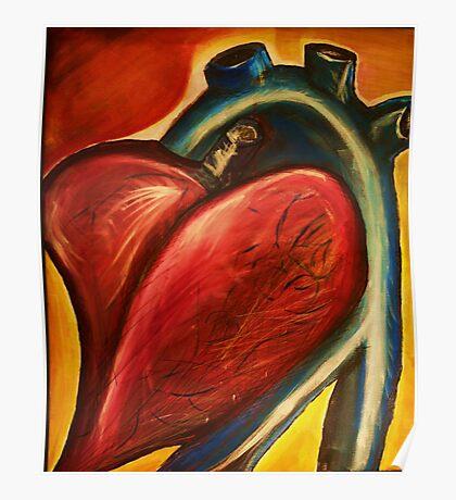The heart of nursing Poster