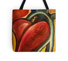 The heart of nursing Tote Bag