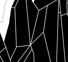 Crystal Black Sticker