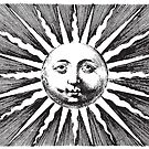 Vintage sun illustration by monsterplanet