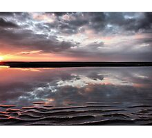 Ridges and Reflections. Photographic Print