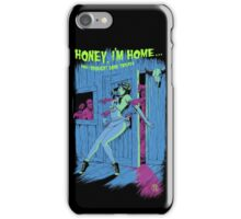 Zombie Pinup Girl iPhone Case/Skin