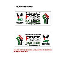Palestine mug template Photographic Print
