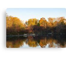 Dreamy Autumn Reflections Canvas Print