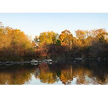 Dreamy Autumn Reflections Photographic Print