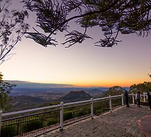 Picnic Point Lookout Toowoomba Sunrise by Tim Swinson