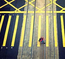 Pedestrian, Hong Kong by Cara Gallardo Weil