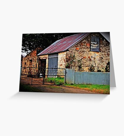 Historic Building Bungendore Greeting Card