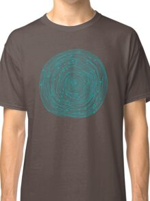 Turquoise spirals  Classic T-Shirt