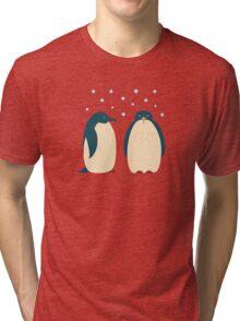 Happy penguins Tri-blend T-Shirt