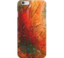 Primitive abstract 1 art iPhone Case/Skin